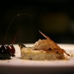 Καραμελωμένο ρυζόγαλο με φρέσκιες τρούφες